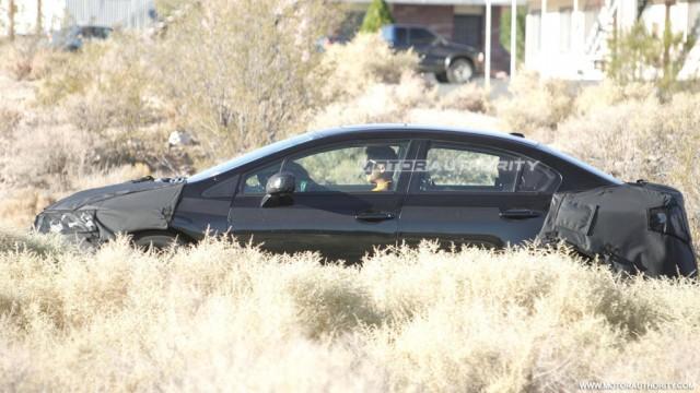 2012 Honda Civic spy shots