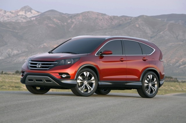 Front 3/4 view of 2012 Honda CR-V Concept