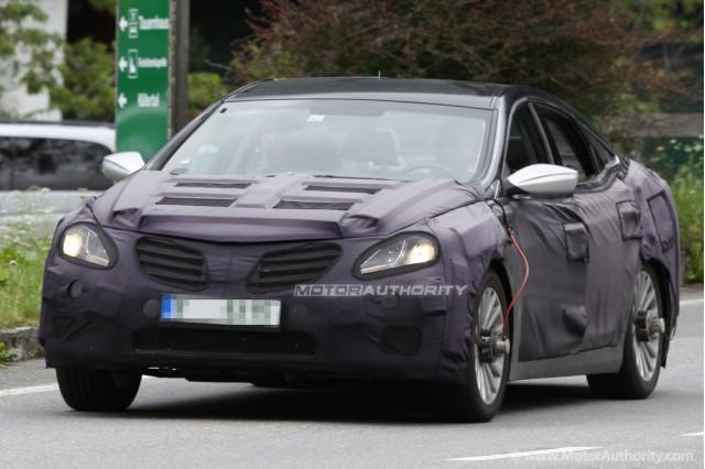 2012 Hyundai Azera (Grandeur) spy shots