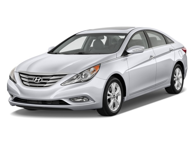 2012 Hyundai Sonata 4-door Sedan 2.4L Auto Limited Angular Front Exterior View