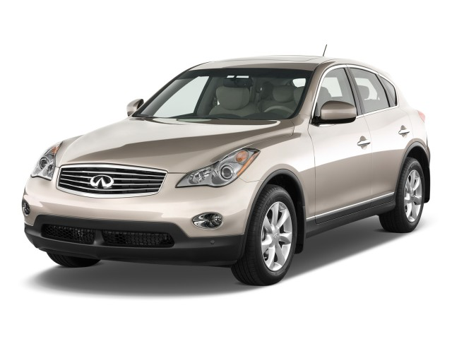 2012 Infiniti EX35 RWD 4-door Journey Angular Front Exterior View
