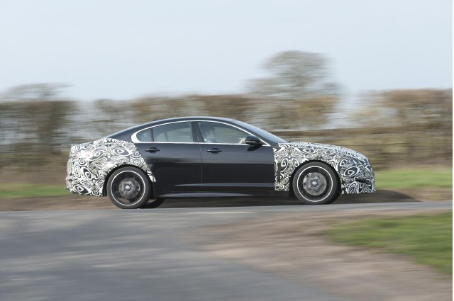 2012 Jaguar XF development mule