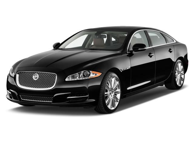 2012 Jaguar Xj 4 Door Sedan Xjl Supercharged Angular Front Exterior View