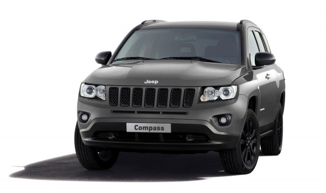 2012 Jeep Compass production-intent concept