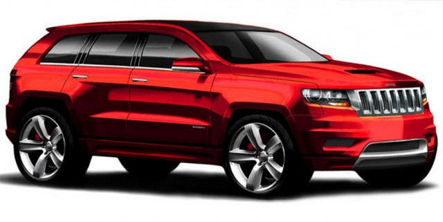 500 HP 2011 Jeep Grand Cherokee SRT8 Coming This Summer