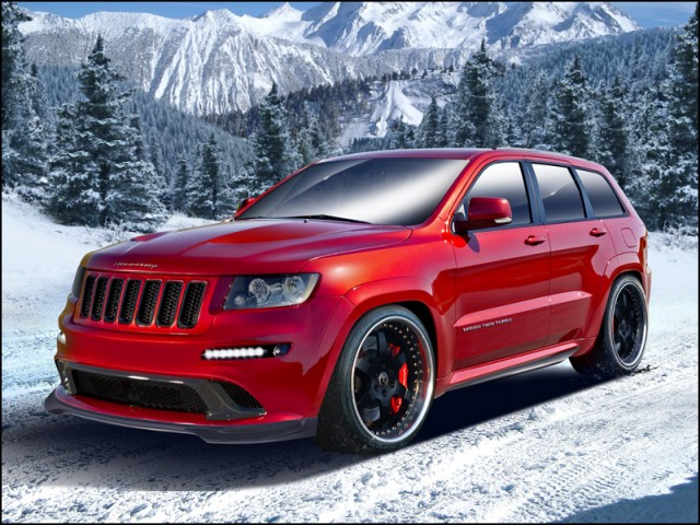 Hennessey HPE800 Twin Turbo Jeep
