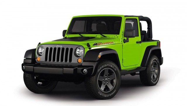 2012 Jeep Wrangler Mountain edition