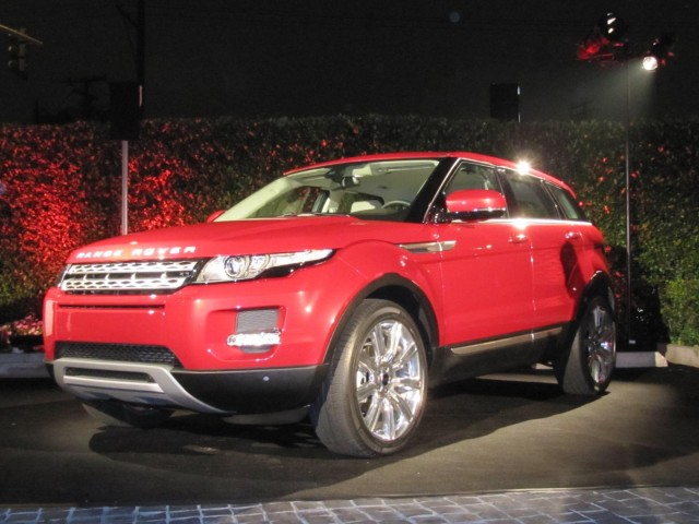 2012 Range Rover Evoque launch party, Ceconni restaurant, West Hollywood, California, November 2010