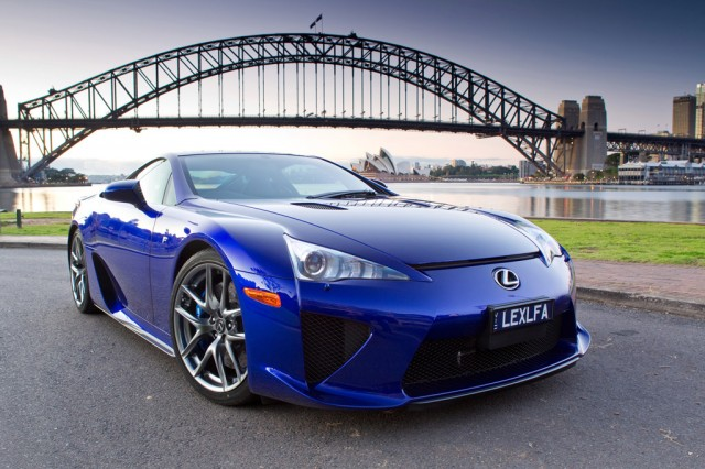 2012 Lexus LFA right-hand drive model