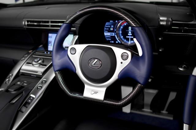 2012 Lexus LFA right-hand drive model
