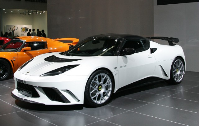 2012 Lotus Evora GTE China Limited Edition