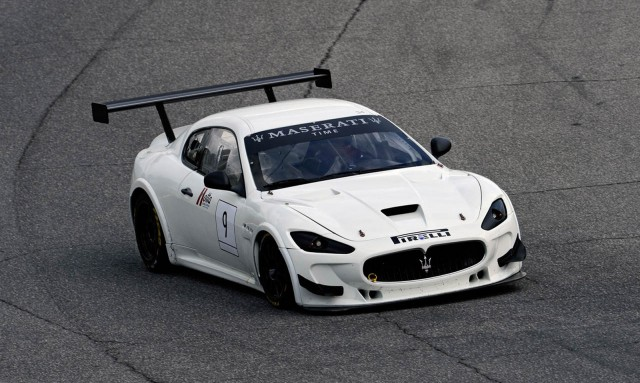 2012 Maserati GranTurismo MC Trofeo race car