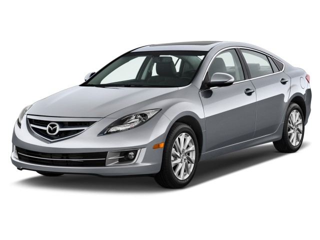 2012 Mazda MAZDA6 4-door Sedan Auto i Grand Touring Angular Front Exterior View