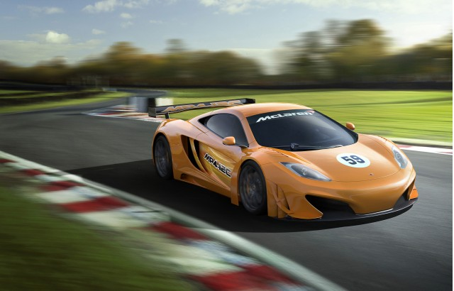2012 McLaren MP4-12C GT3 race car preview