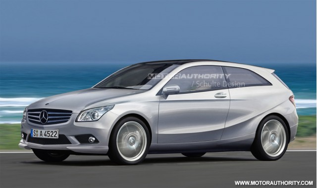 2012 Mercedes-Benz A-Class rendering