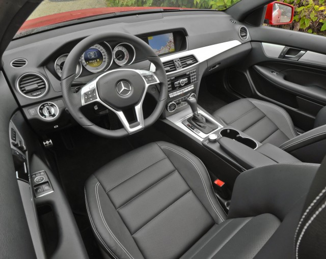2012 Mercedes-Benz C250 Coupe. Image: Mercedes-Benz