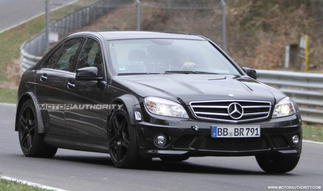 2012 Mercedes-Benz C63 AMG Black Series spy shots