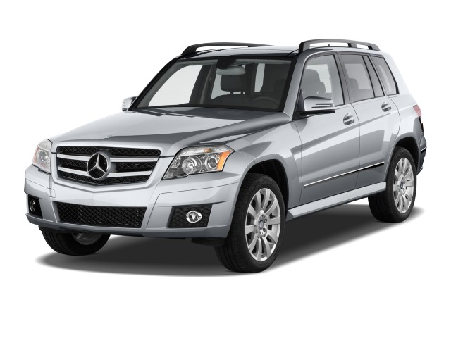 2012 Mercedes-Benz GLK Class RWD 4-door Angular Front Exterior View
