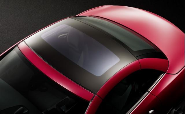 2012 Mercedes-Benz SLK Magic Sky Control roof