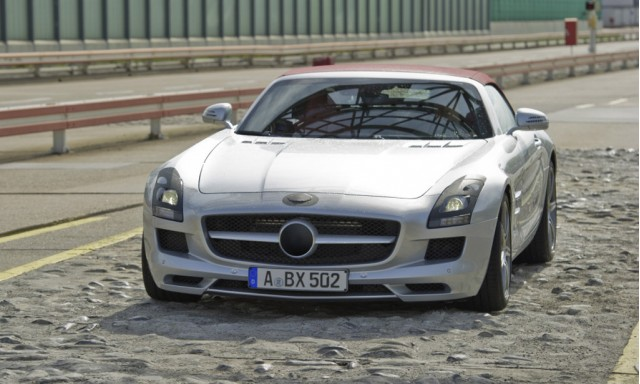 2012 Mercedes-Benz SLS AMG Roadster in final test stage