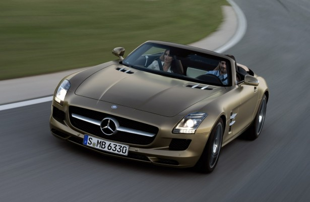 Perfect 2012 Mercedes Benz SLS AMG Roadster