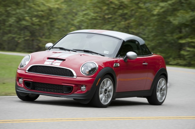 mini coupe and roadster going away to make room for new sports car. Black Bedroom Furniture Sets. Home Design Ideas
