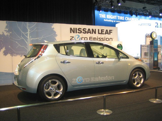 Nissan Leaf Electric Car Relegates Gas Cars To The Garage Nissan Says