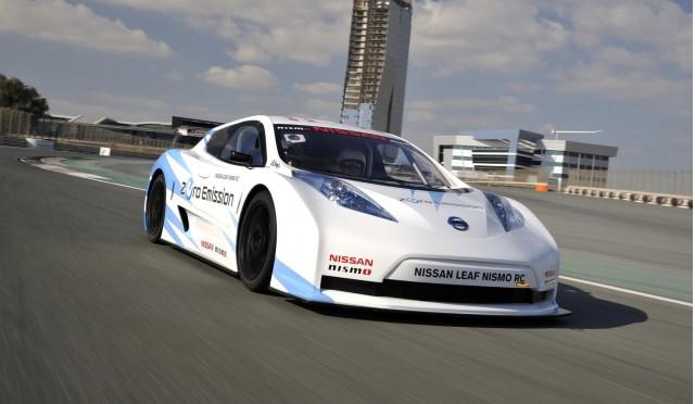 2012 Nissan Leaf Nismo RC electric race car