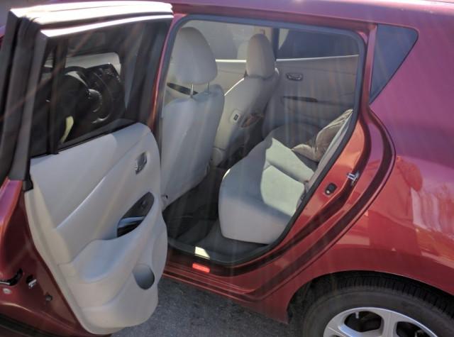 Voiture électrique Nissan Leaf SL 2012, propriété de Shiva de Fremont, Californie, octobre 2017