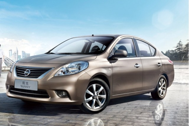 Nissan Sunny on sale in China, unveiled at 2010 Guangzhou auto show