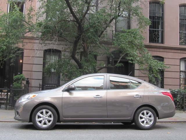 2012 Nissan Versa 1.6 SL, New York City, July 2012