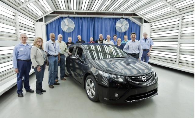 Opel Ampera Gms Other Extended Range Ev In Pre Production