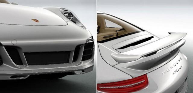 2012 Porsche 911 Aerokit teaser