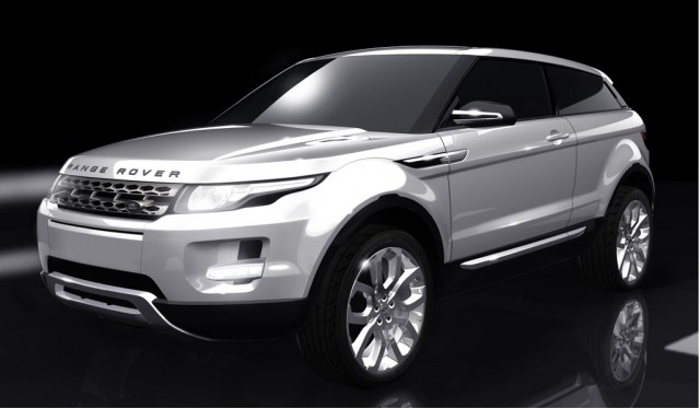 2012 Range Rover LRX official rendering