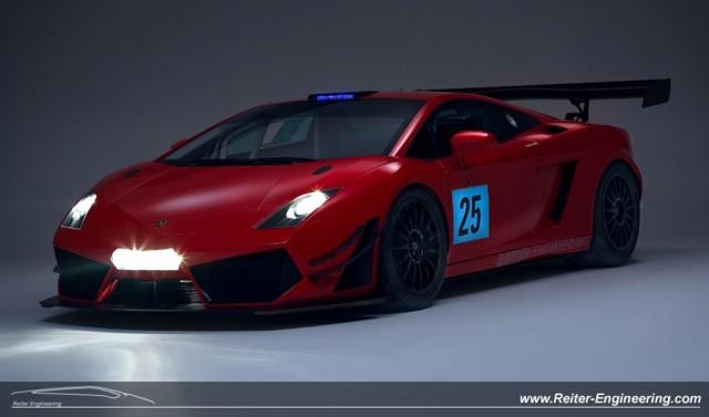 2012 Reiter Engineering Lamborghini Gallardo LP600+ GT3 race car