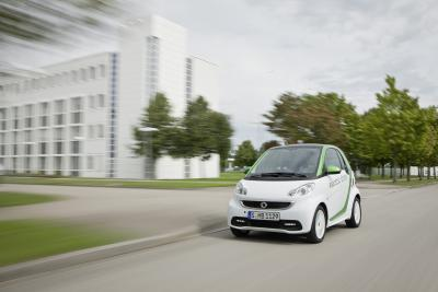 2012 Smart ForTwo Electric Drive (Third Generation) - 2011 Frankfurt AutoShow Preview.