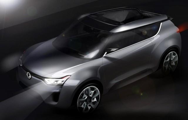 2012 SsangYong XIV-2 Convertible Concept