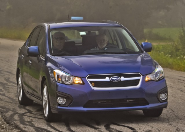 2012 Subaru Impreza four-door sedan, Connecticut, Sept 2011