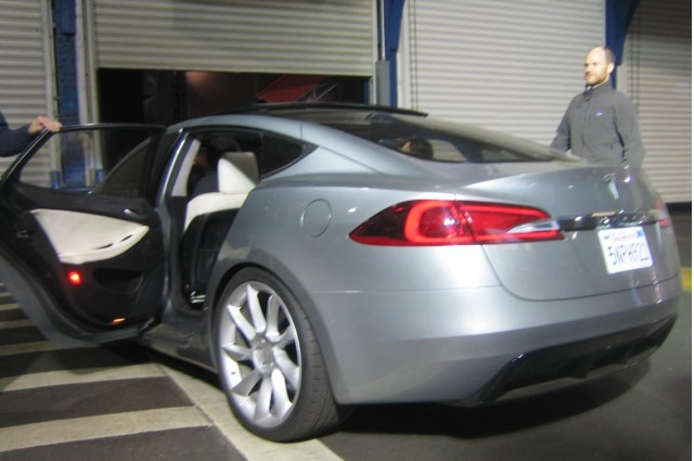 2012 Tesla Model S - Your Ride, Sir?