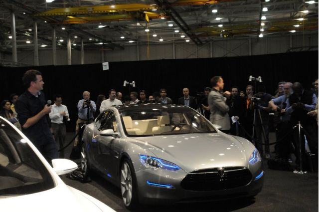 Objects May Not Be As Advertised Tesla Model S Prototype Tour
