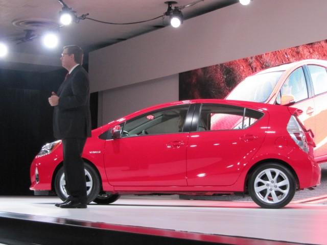 Exceptional 2012 Toyota Prius C Launch, Detroit Auto Show