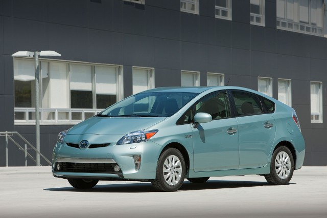 2012 Toyota Prius Plug-In Hybrid - production model