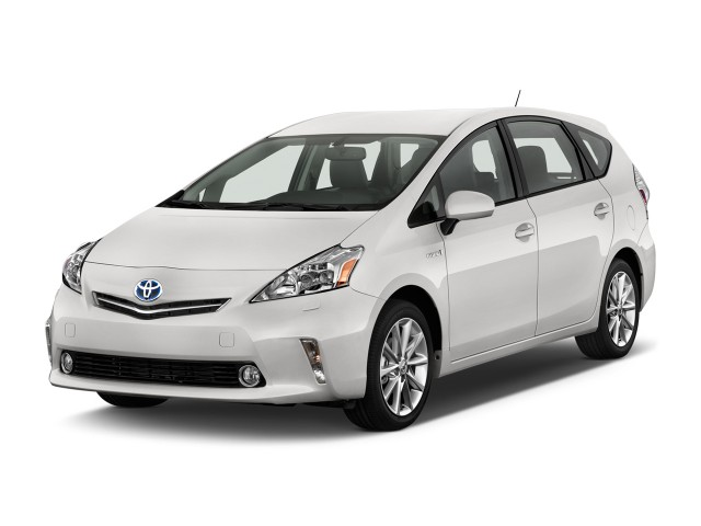 2012 Toyota Prius V 5dr Wagon Five (Natl) Angular Front Exterior View