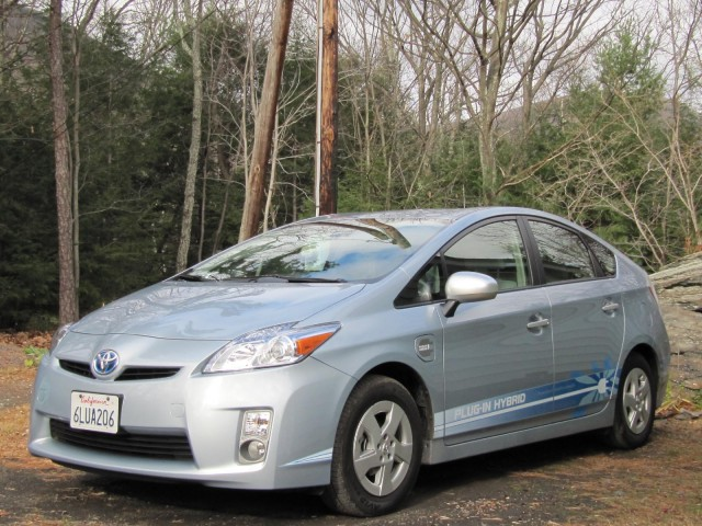 Toyota Prius Plug In Hybrid Prototype Tested November 2010