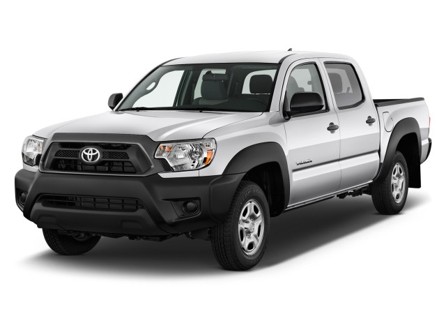 2012 Toyota Tacoma 2WD Double I4 AT (Natl) Angular Front Exterior View