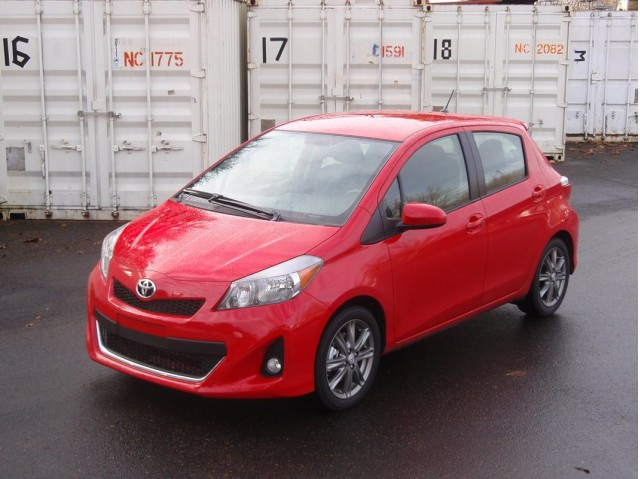 2012 Toyota Yaris SE - First Drive