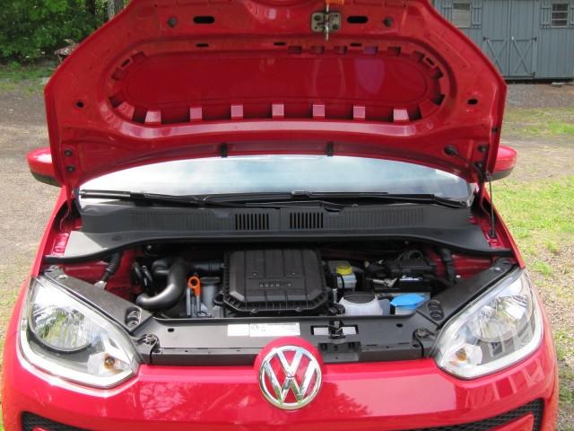 2012 Volkswagen Up minicar (German model), road test, Catskill Mountains, NY, May 2012