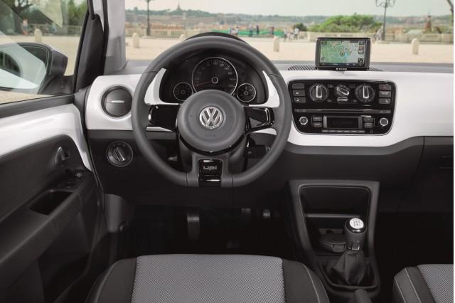 2012 Volkswagen Up minicar (German model)