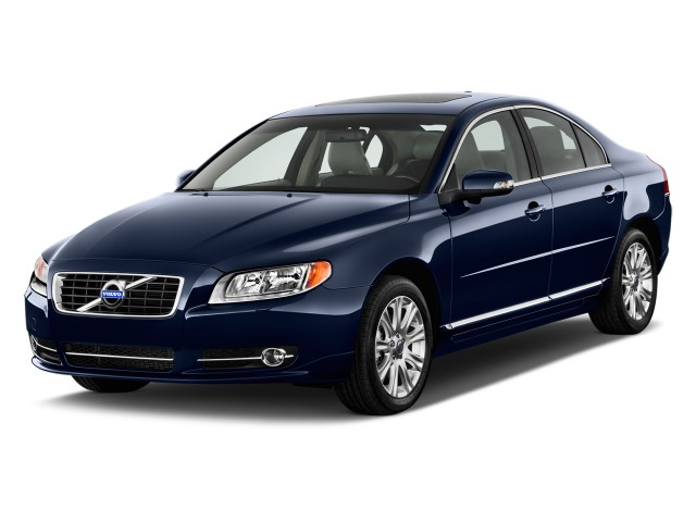 2012 Volvo S80 4-door Sedan 3.2L Angular Front Exterior View