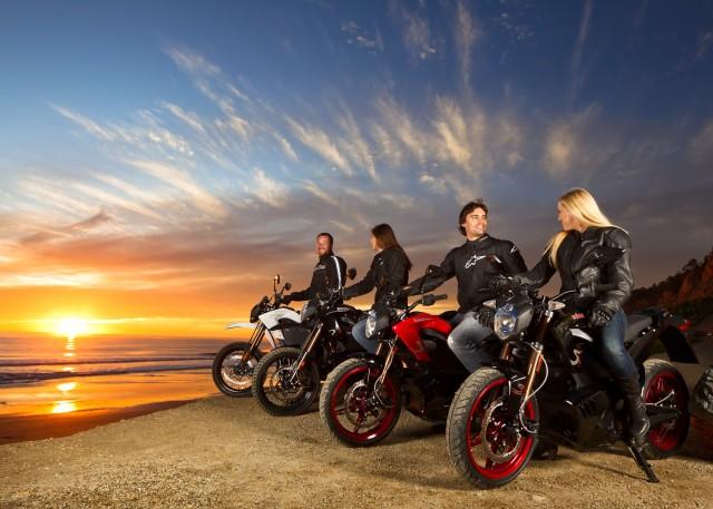 2012 Zero electric motorcycle range
